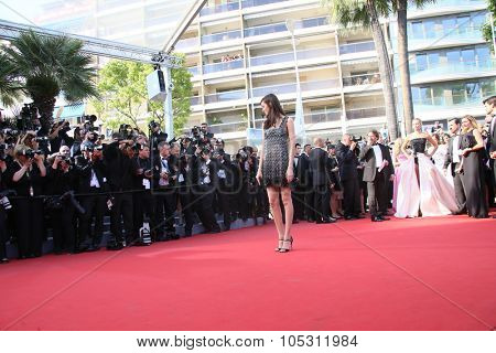 Luma Grothe attend the 'Carol' Premiere during the 68th annual Cannes Film Festival on May 17, 2015 in Cannes, France.