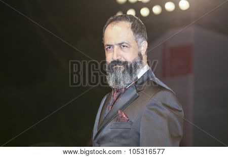 Venice, Italy - 08 September 2015: Mehmet Ozgur attends a premiere for 'Frenzy' during the 72nd Venice Film Festival