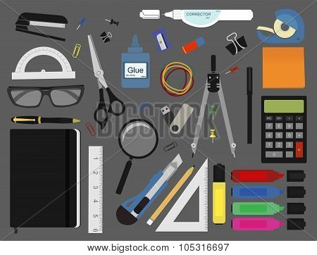 Stationery tools color