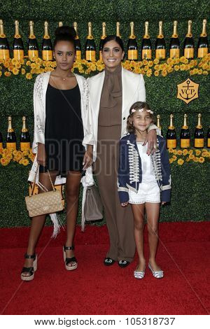 LOS ANGELES - OCT 17:  Rachel Roy, Ava Dash, Tallulah Dash at the Sixth-Annual Veuve Clicquot Polo Classic at the Will Rogers State Historic Park on October 17, 2015 in acific Palisades, CA