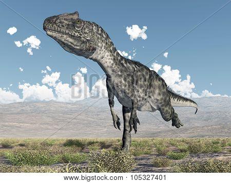 Dinosaur Allosaurus