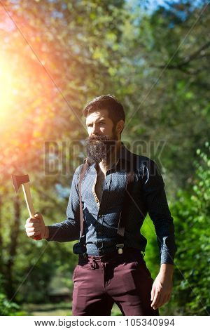 Logger With Beard
