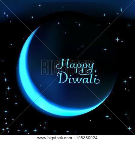 Happy Diwali the celebration of Hindu community festival.