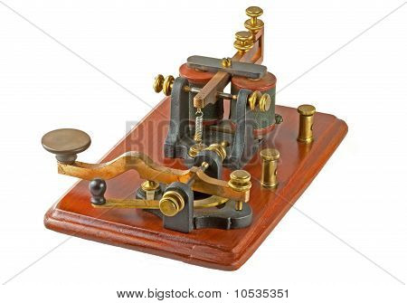 Antique Morse Key c 1860