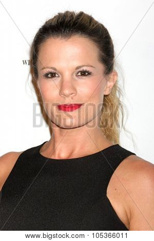 LOS ANGELES - OCT 17:  Melissa Claire Egan at the  LAPD Eagle & Badge Foundation Gala at the Century Plaza Hotel on October 17, 2015 in Century City, CA