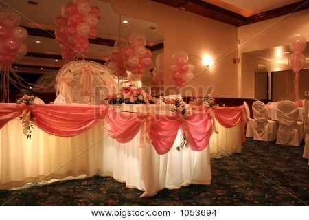 Formal Party Table Setting