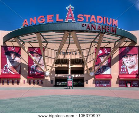Angel Stadium Of Anaheim Entrance