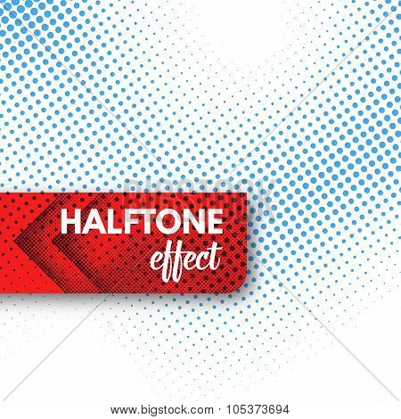 Vector Halftone background.