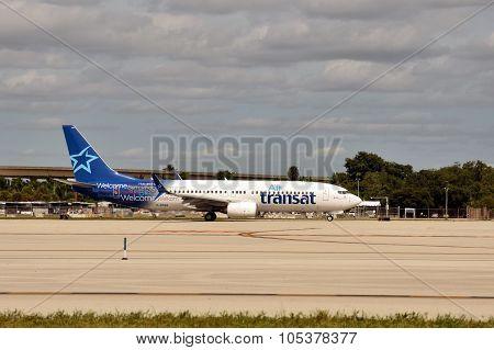 Air Transat Passenger Jet