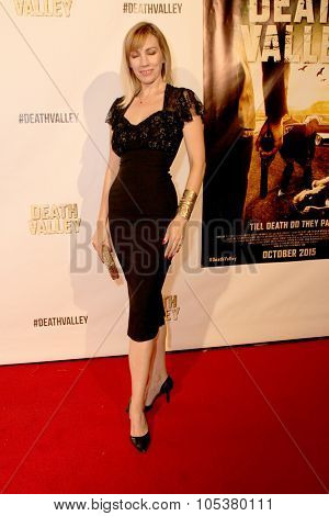 LOS ANGELES- OCT 17: Juliette Beavan arrives at the