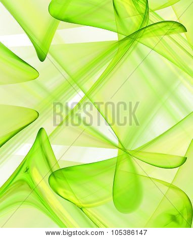Abstract Spring Theme Background