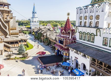 Izmailovo Kremlin In City Moscow.
