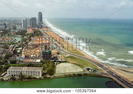 Aerial View Of Colombo