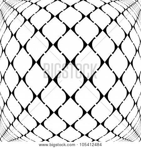 Design Warped Grid Geometric Pattern