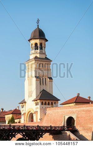 Citadel and tower, Alba Carolina, Romania