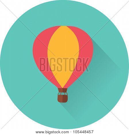 flat balloon icon