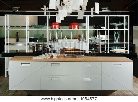 Küche in modernem Design
