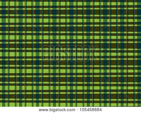 Light and dark green plaid pattern