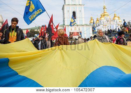 Ukrainians Celebrate 73St Anniversary Of Ukrainian Insurgent Army Upa
