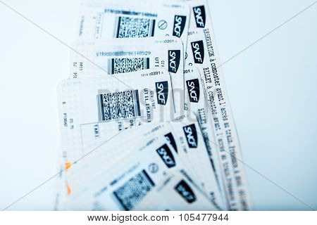 Train Tickets For Sncf - Societe Nationale Des Chemins De Fer Francais