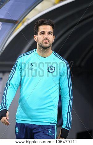Cesc Fabregas Of Fc Chelsea