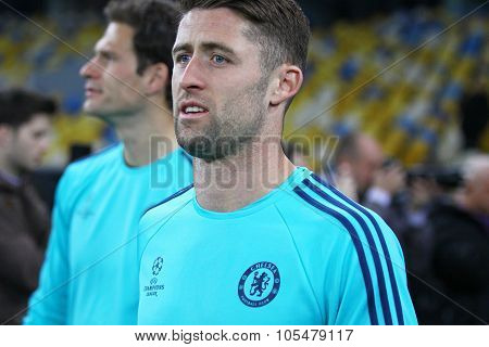 Gary Cahill Of Fc Chelsea