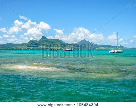 Coral island Aigrettes Mauritius