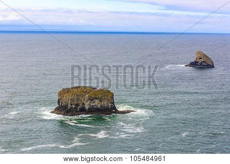 Rocks Off Oregon Coast
