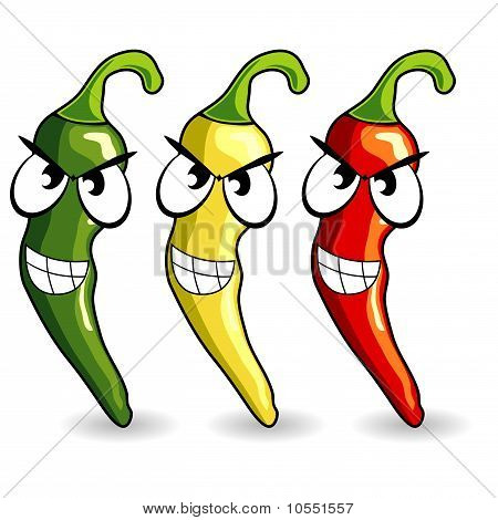 Funny Mexican Hot Chili Peppers