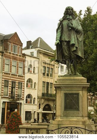 Historical Centre Of The City Hague, Holland.