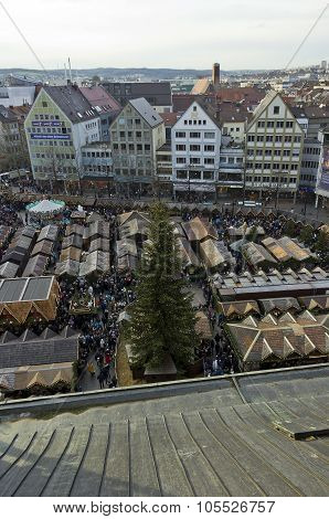 The Ulm Christmas Market