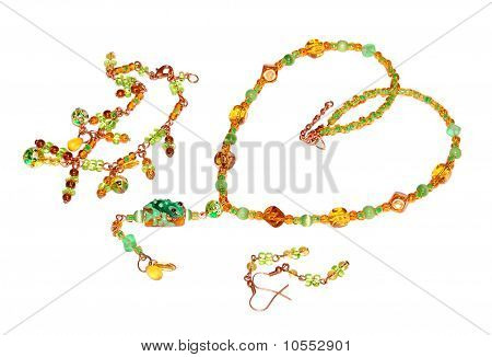 beads with frog