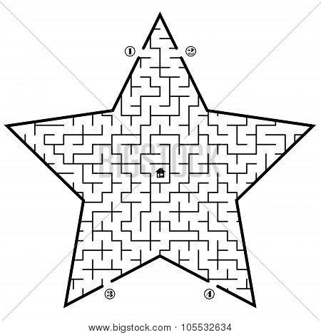 Labyrinth In Star