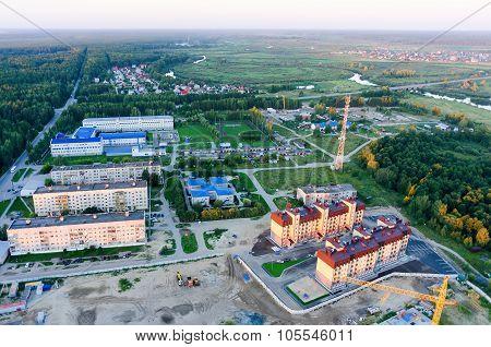Tyumen oil pipeline professional lyceum. Russia