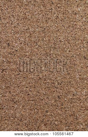 Detail, closeup of a cork texture background poster