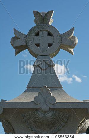 Devotional Cross In Germany