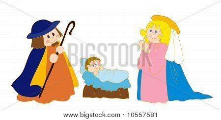 Christ's nativity.