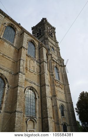 The church of Grimbergen Abbey