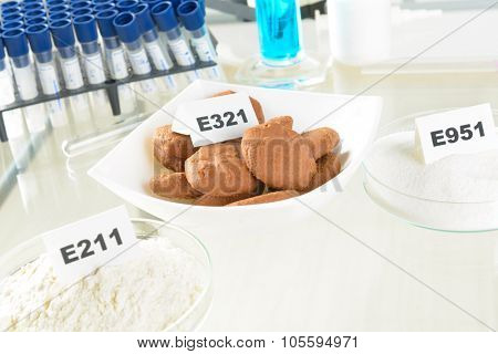 Preservatives substances that are added to products such as foods, pharmaceuticals, paints, biological samples, wood etc