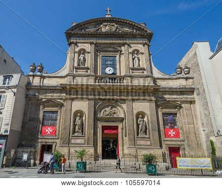Saint-Elisabeth Catholic Church in Paris