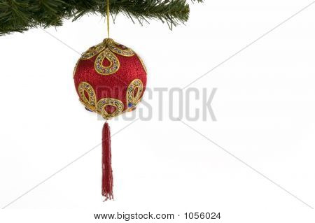 Indian Asian Christmas Bauble
