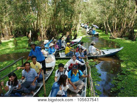 Mekong Delta, Tra Su Indigo Forest, Ecotourism