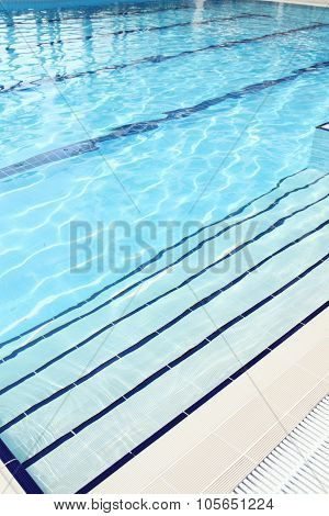 Swimming pool is outdoors