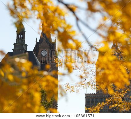 Autumn Clocktower
