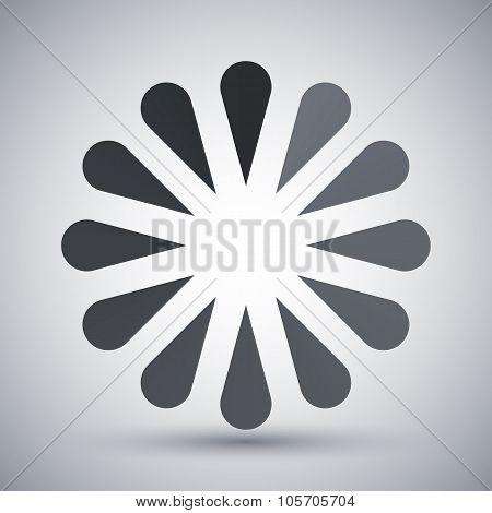 Vector Progress Loader Icon