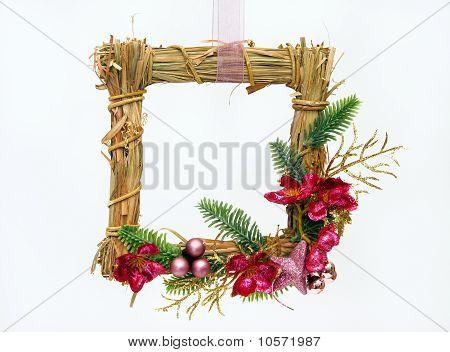 Straws frame