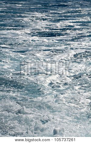 Splashy shiny water surface texture abstract background