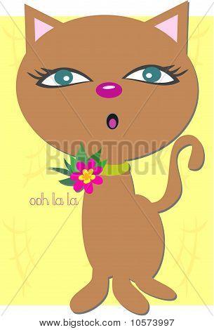 Ooh La La Cat