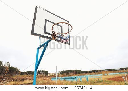 wooden board for basketball