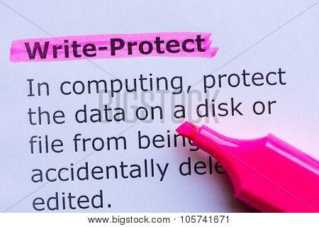Write Protect
